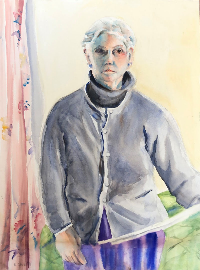 Nancy Berg Clark Self Portrait